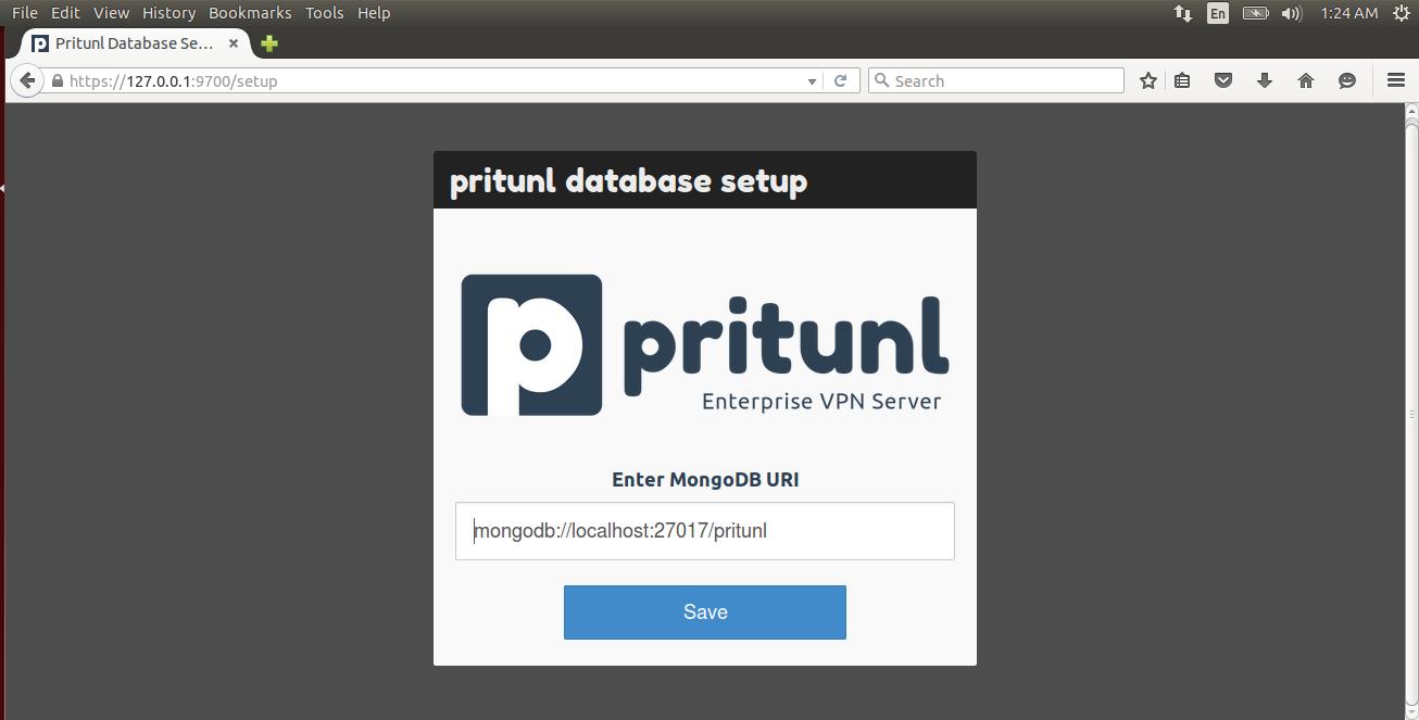 Настройка vpn сервера ubuntu 9 хостинг для самп серверов 0.3.7