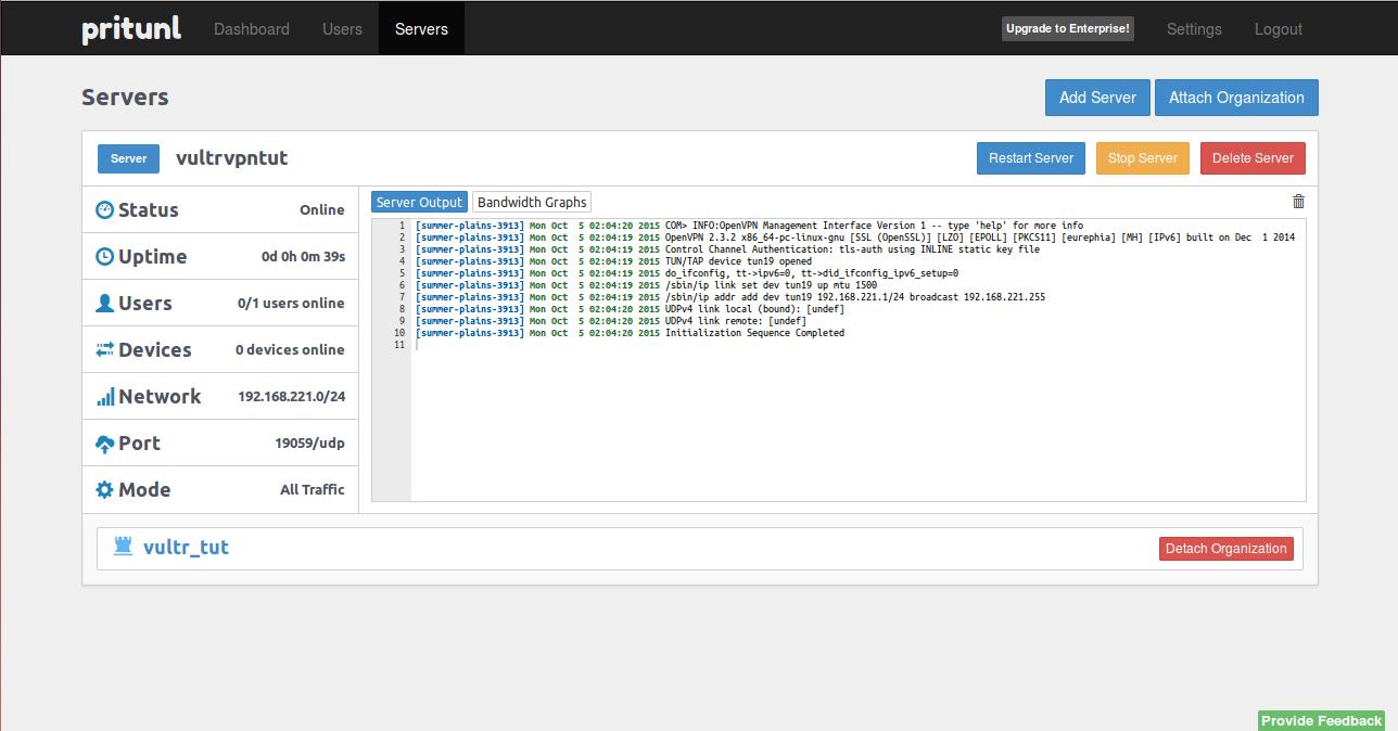 Настройка vpn сервера в ubuntu студия создание красивых сайтов санкт петербург