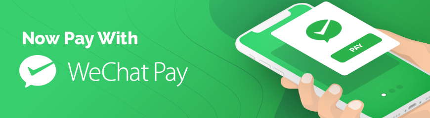 WeChat Pay Accepted Here!