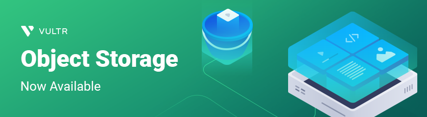 Introducing Vultr Object Storage!