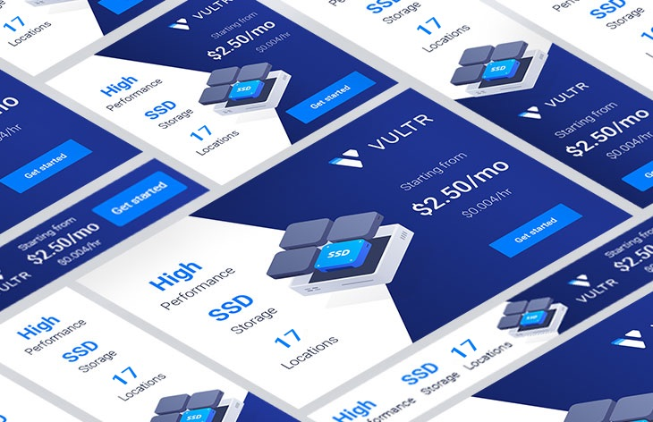 Vultr - Promo banners