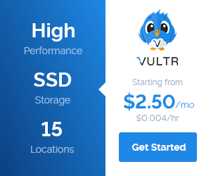 Cheap VPS from Vultr