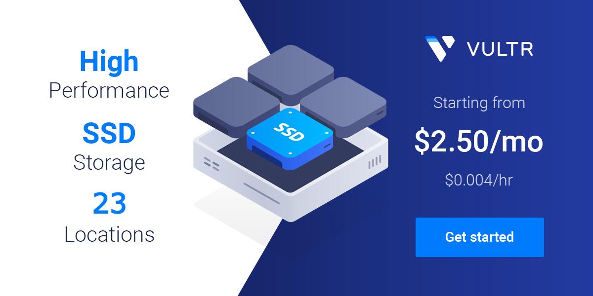 Vultr VPS hosting