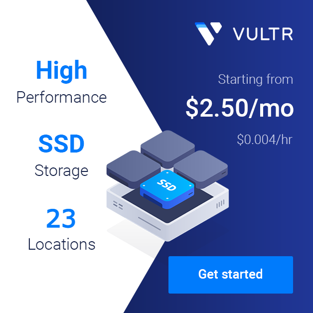 Try Vultr with $100
