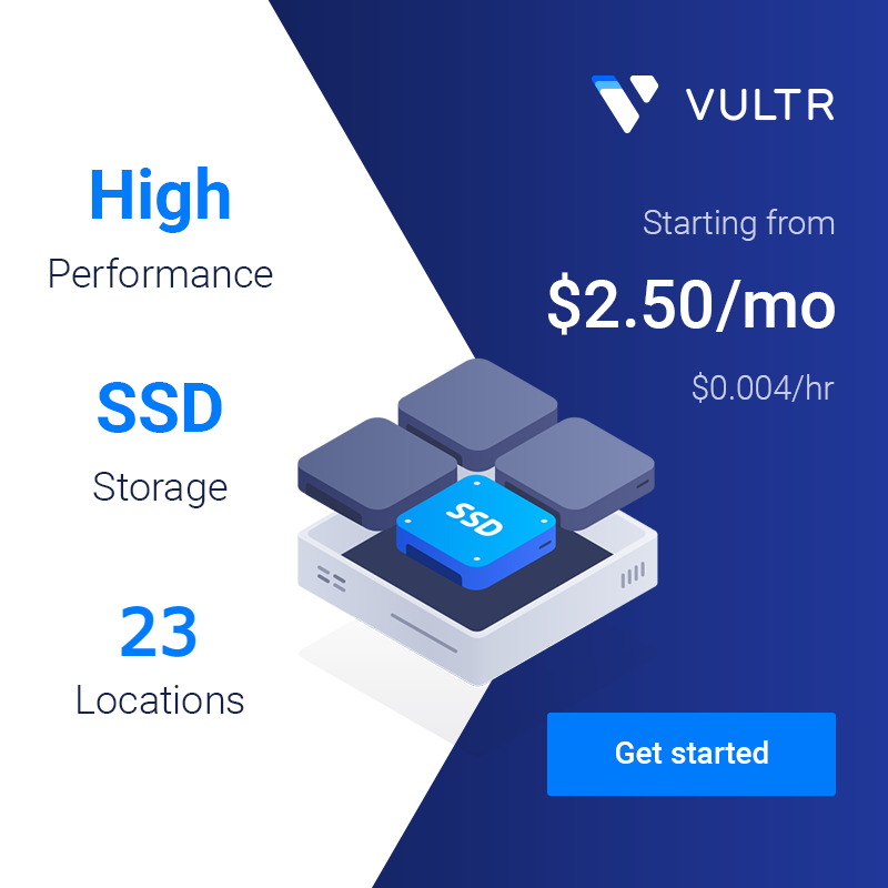 VULTR - Get Started