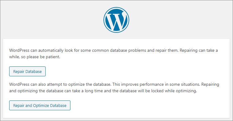 DatabaseRepair