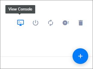 Vultr Web Console