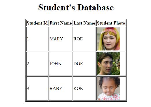 DB Example
