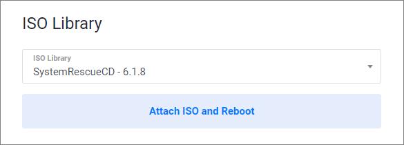 Attach ISO