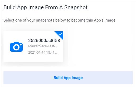 Build App Image