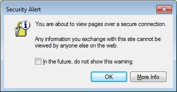 Screenshot of Internet Explorer error message