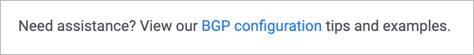 BGP Example Link