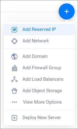 Add Reserved IP