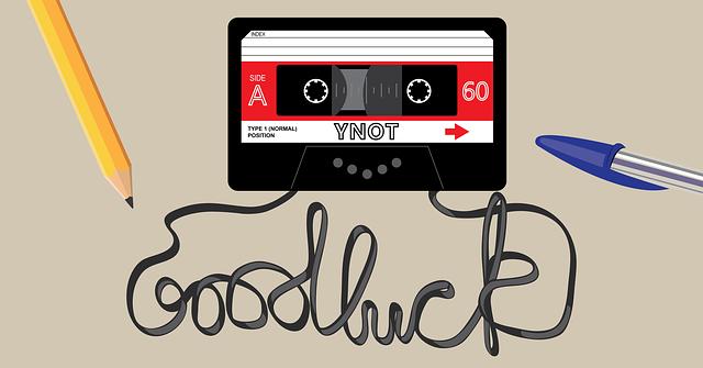 Illustration if cassette tape