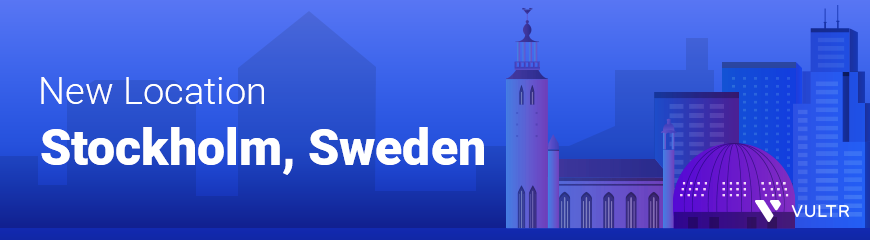 Announcing Our New Cloud Computing Location in Sweden